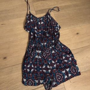 Charlotte Russe Other - Tribal print romper